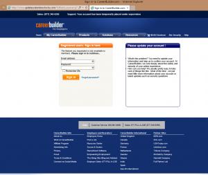 Fraudulent Site